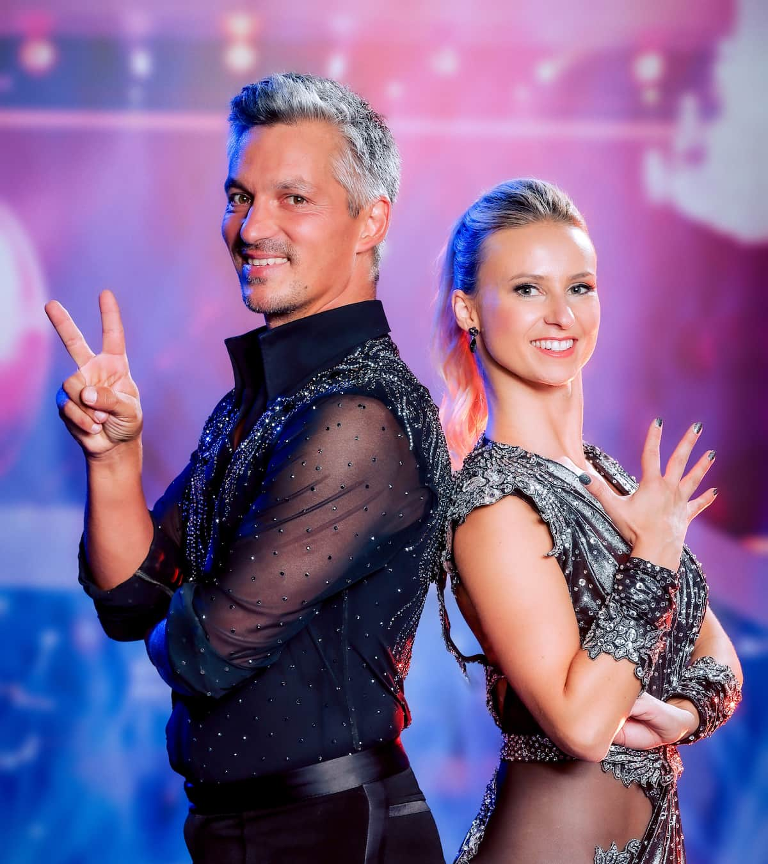 Faris Rahoma und Kati Kallus bei den Dancing Stars 24.9.2021
