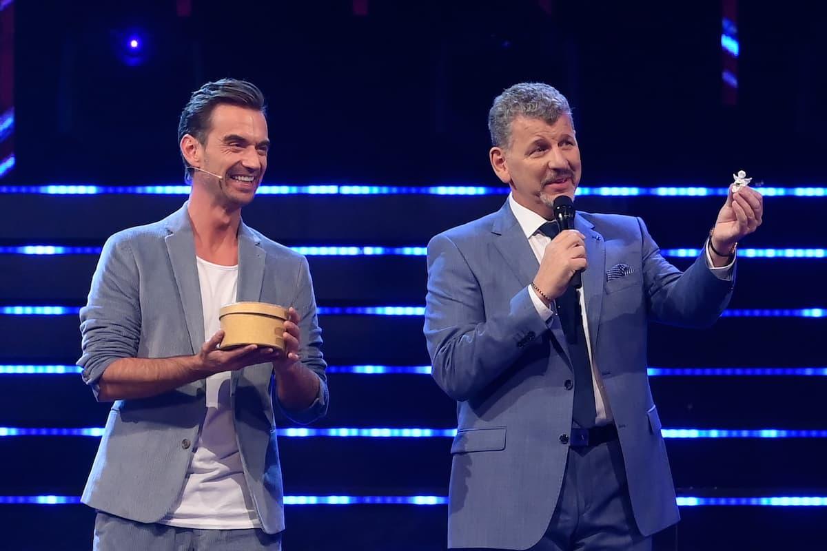 Florian Silbereisen mit Semino Rossi bei der Schlager-Challenge am 4.9.2021