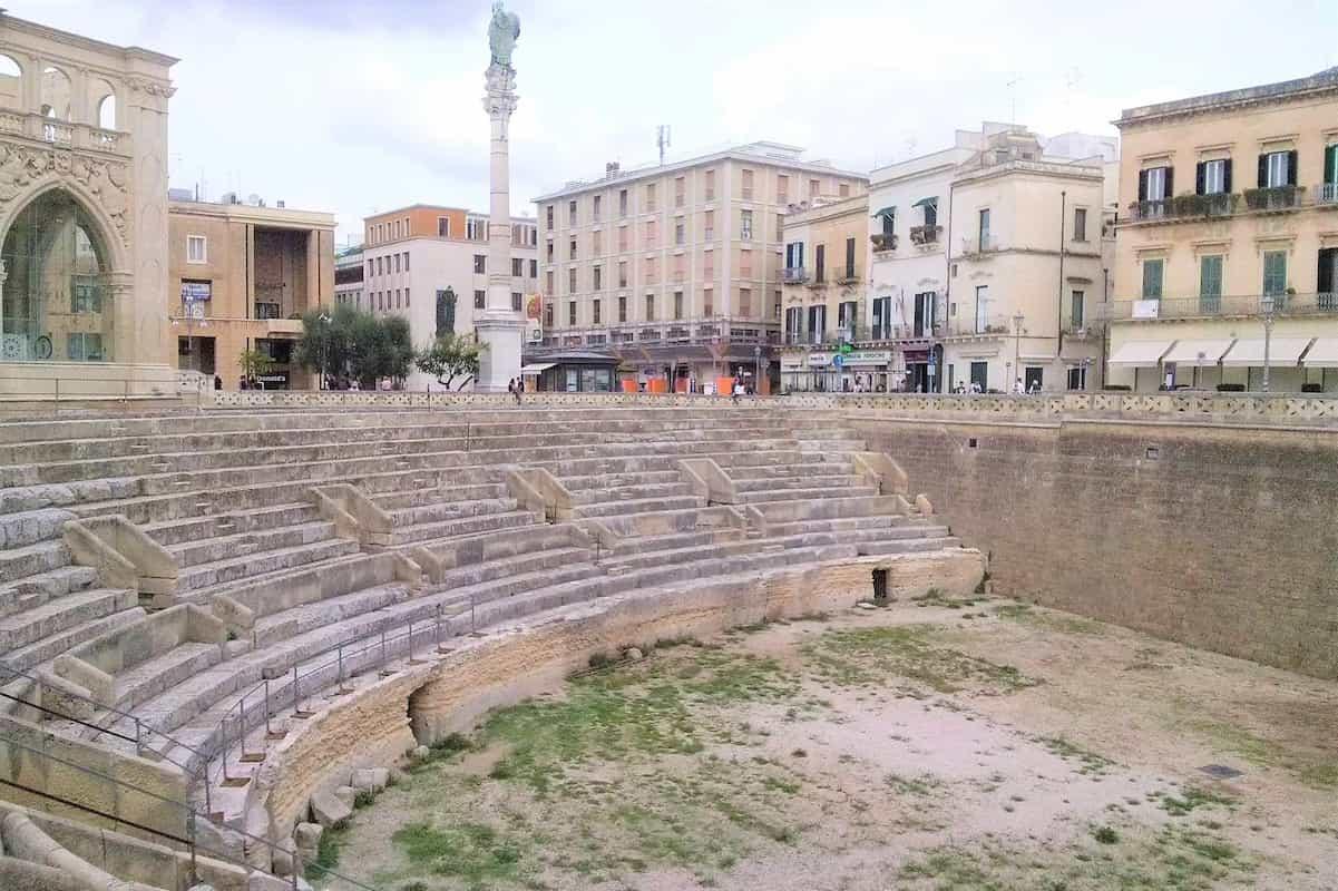Anfiteatro storico Lecce - Location delle riprese straniere Calling DSDS 2022?