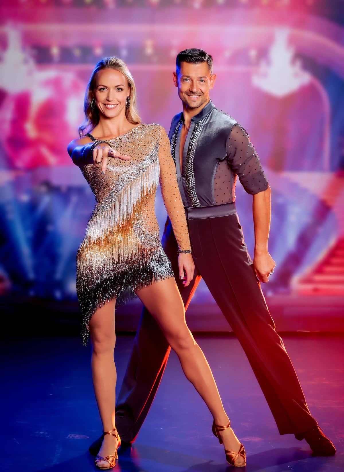 Jasmin Ouschan und Florian Gschaider bei den Dancing Stars 24.9.2021