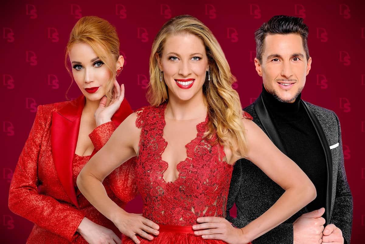 Jury Dancing Stars 2021 - Karina Sarkissova, Maria Santner und Balazs Ekker