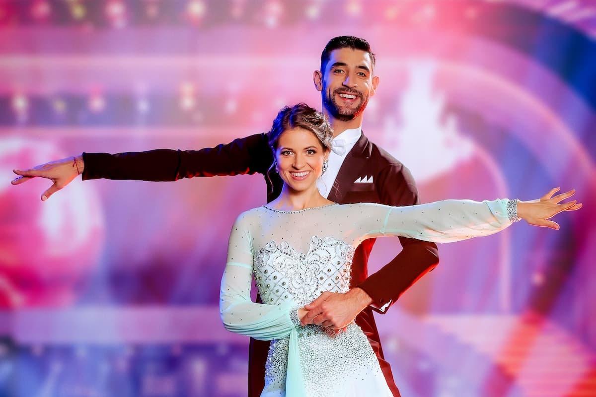 Kristina Inhof und Dimitar Stefanin bei den Dancing Stars 24.9.2021