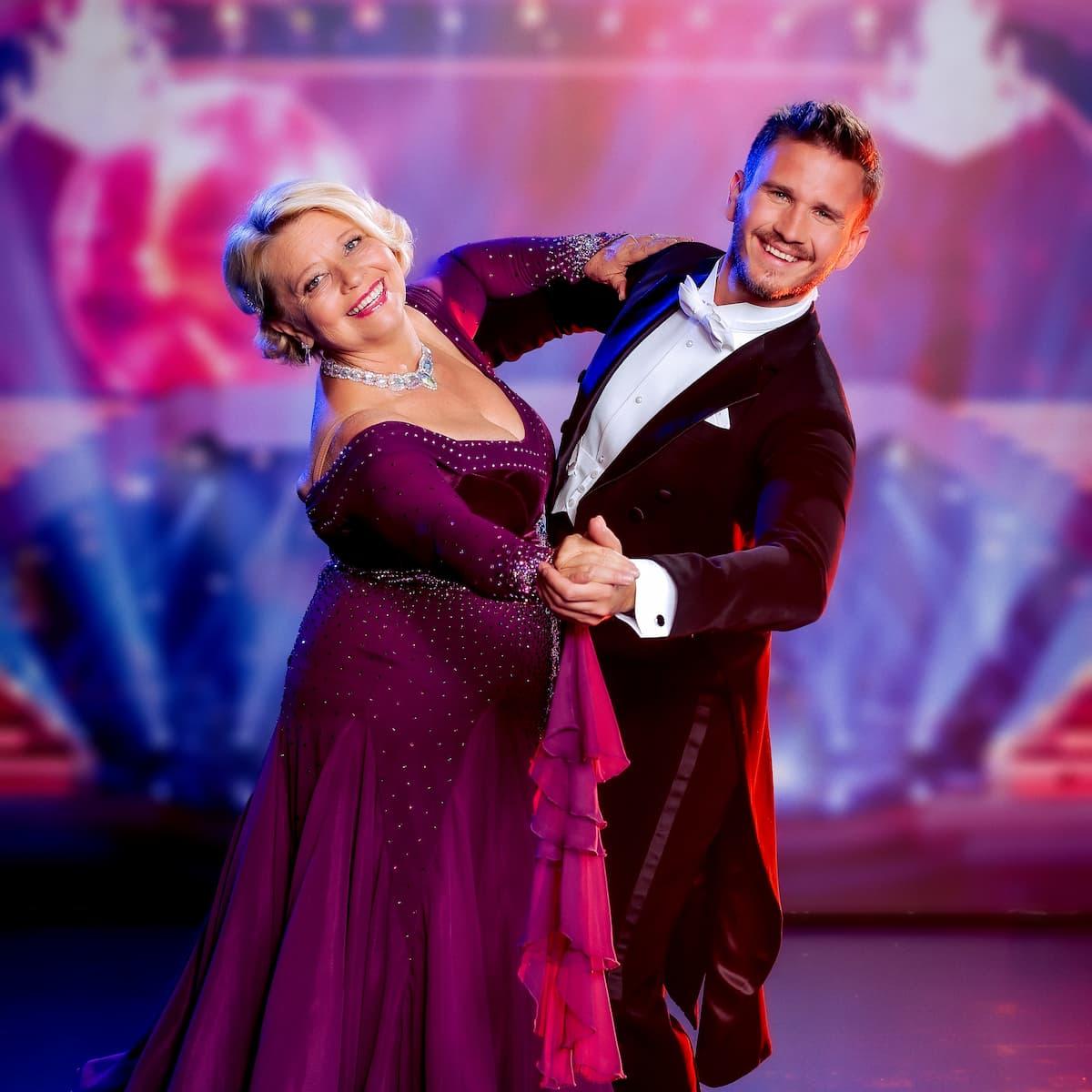 Margarethe Tiesel und Michael Kaufmann bei den Dancing Stars 24.9.2021