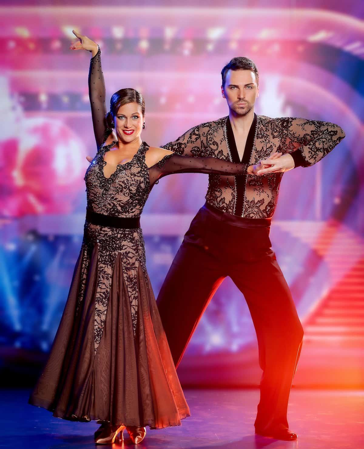 Niko Niko und Manuela Stöckl bei den Dancing Stars 24.9.2021