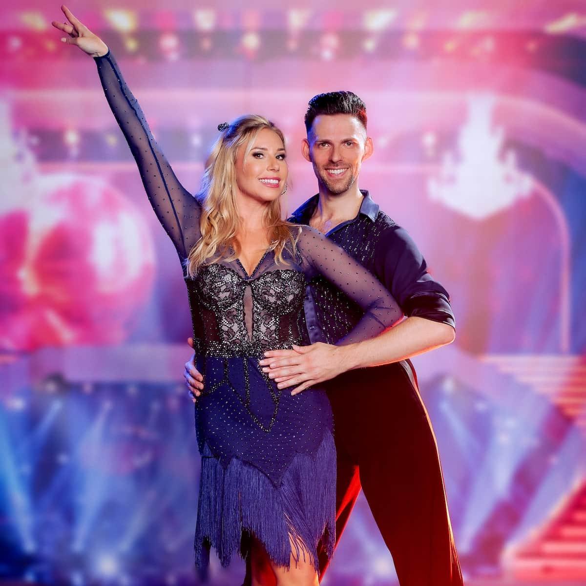 Nina Kraft und Stefan Herzog bei den Dancing Stars 24.9.2021