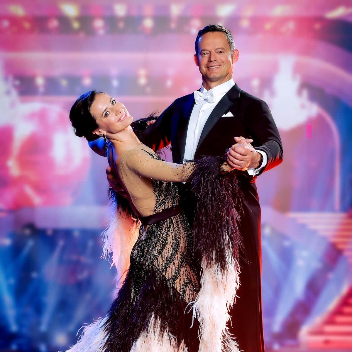 Otto Konrad und Lenka Pohoralek bei den Dancing Stars 24.9.2021