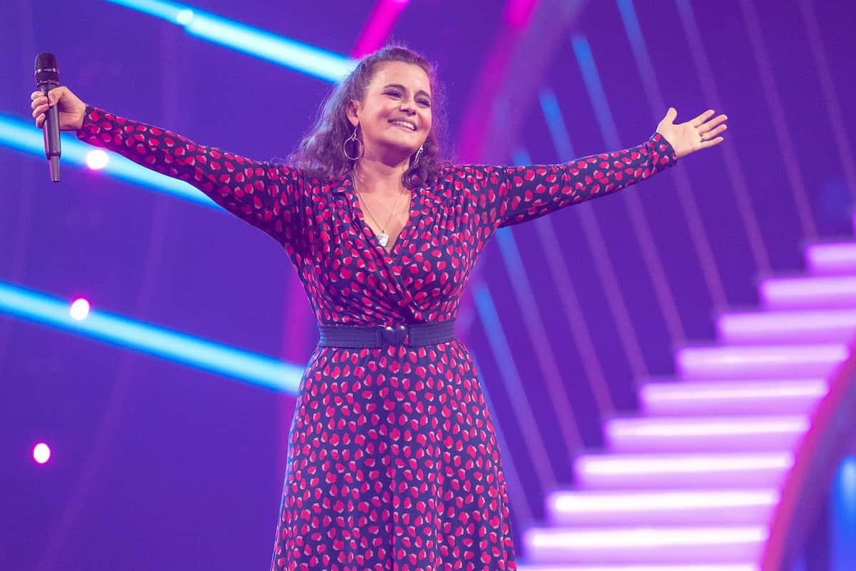 Ronja Forcher in der Giovanni Zarrella Show am 11.9.2021