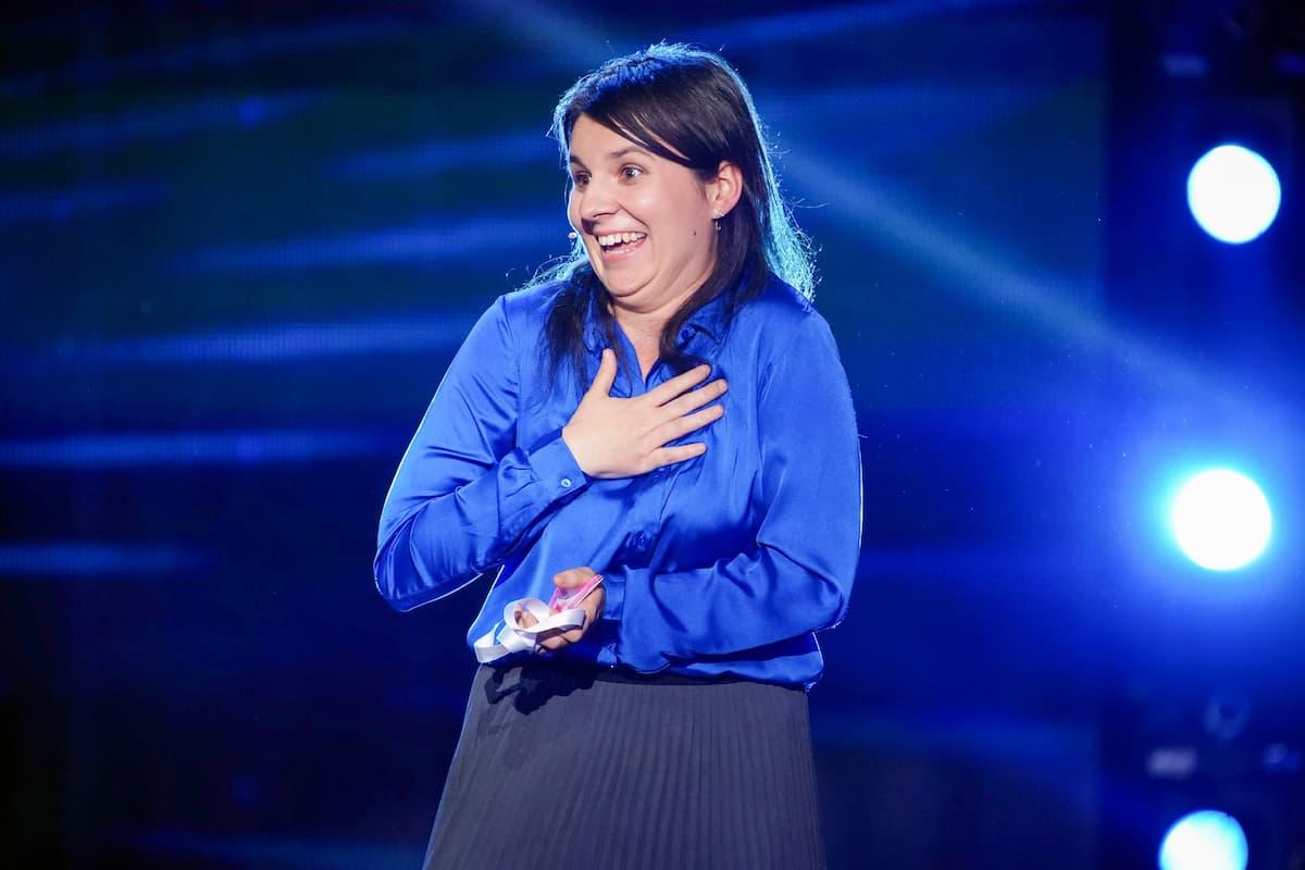 Agnieszka Szkudlarek weiter im Live-Halbfinale Supertalent 2021