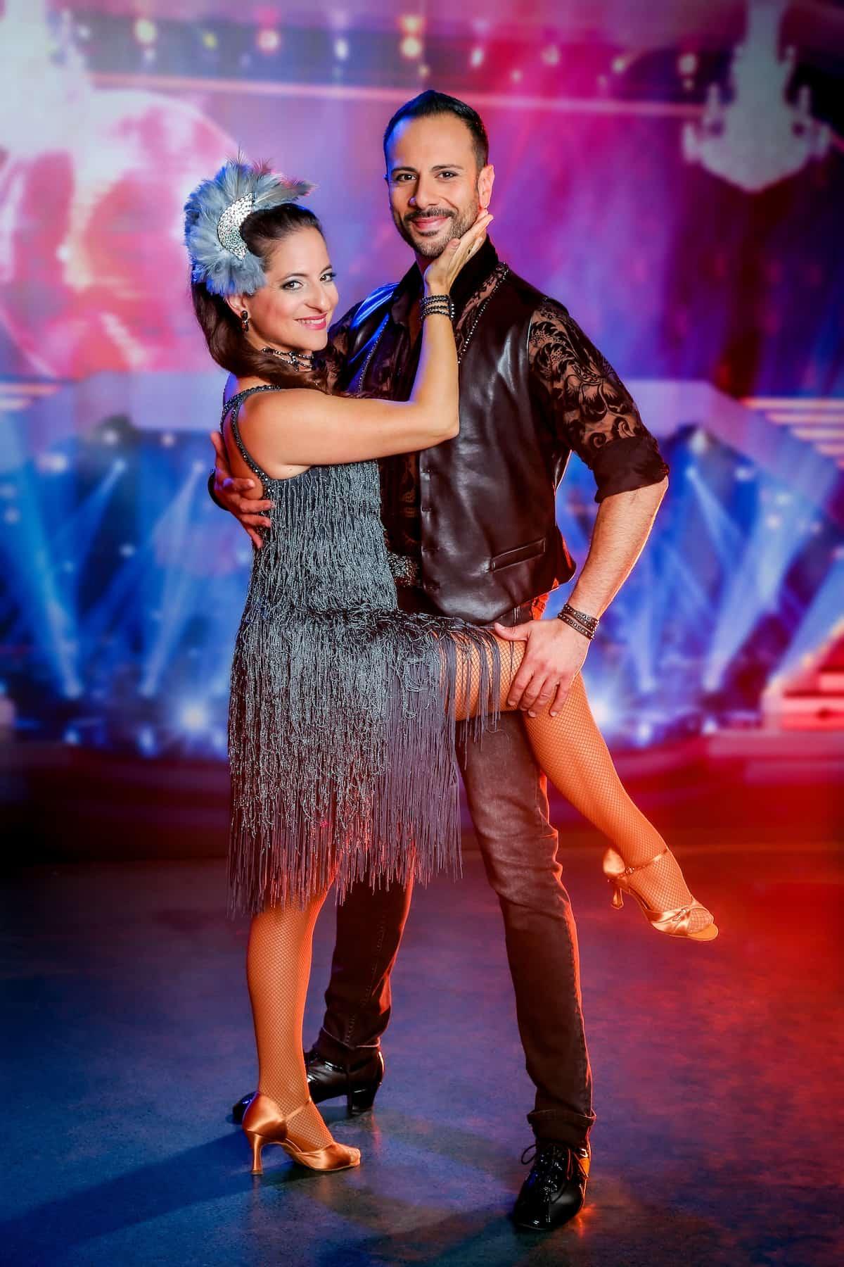 Caroline Athanasiadis und Danilo Campisi - Dancing Stars 8.10.2021