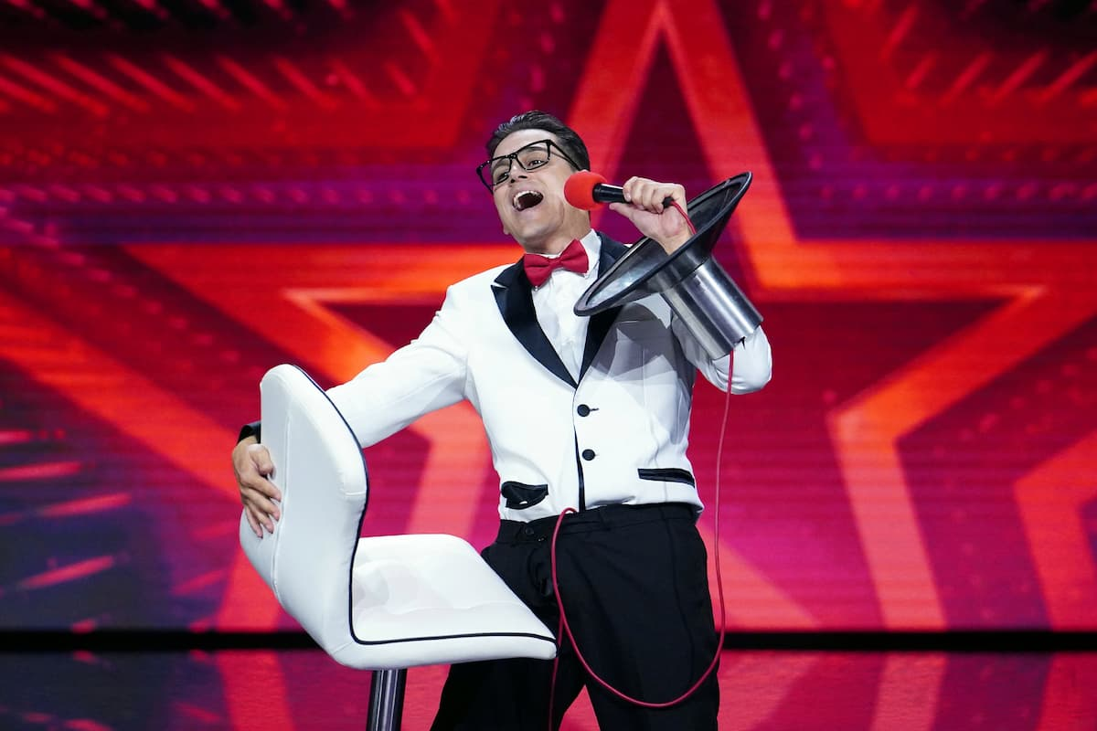 Cesar Dias - Kandidat beim Supertalent 9.10.2021