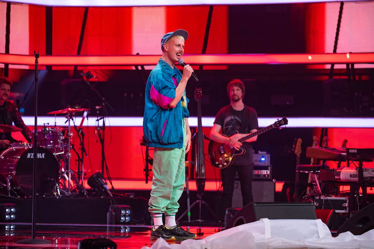 Chris bei The Voice of Germany am 14.10.2021