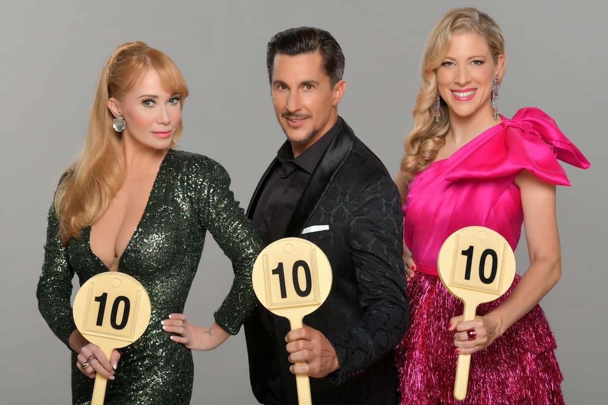 Dancing Stars 2021 Alle Tänze, alle Punkte - hier im Bild Die Juroren Karina Sarkissova, Balazs Ekker und Maria Santner