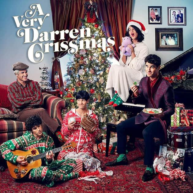 """Darren Criss CD """"A Very Darren Crissmas"""" 2021"""