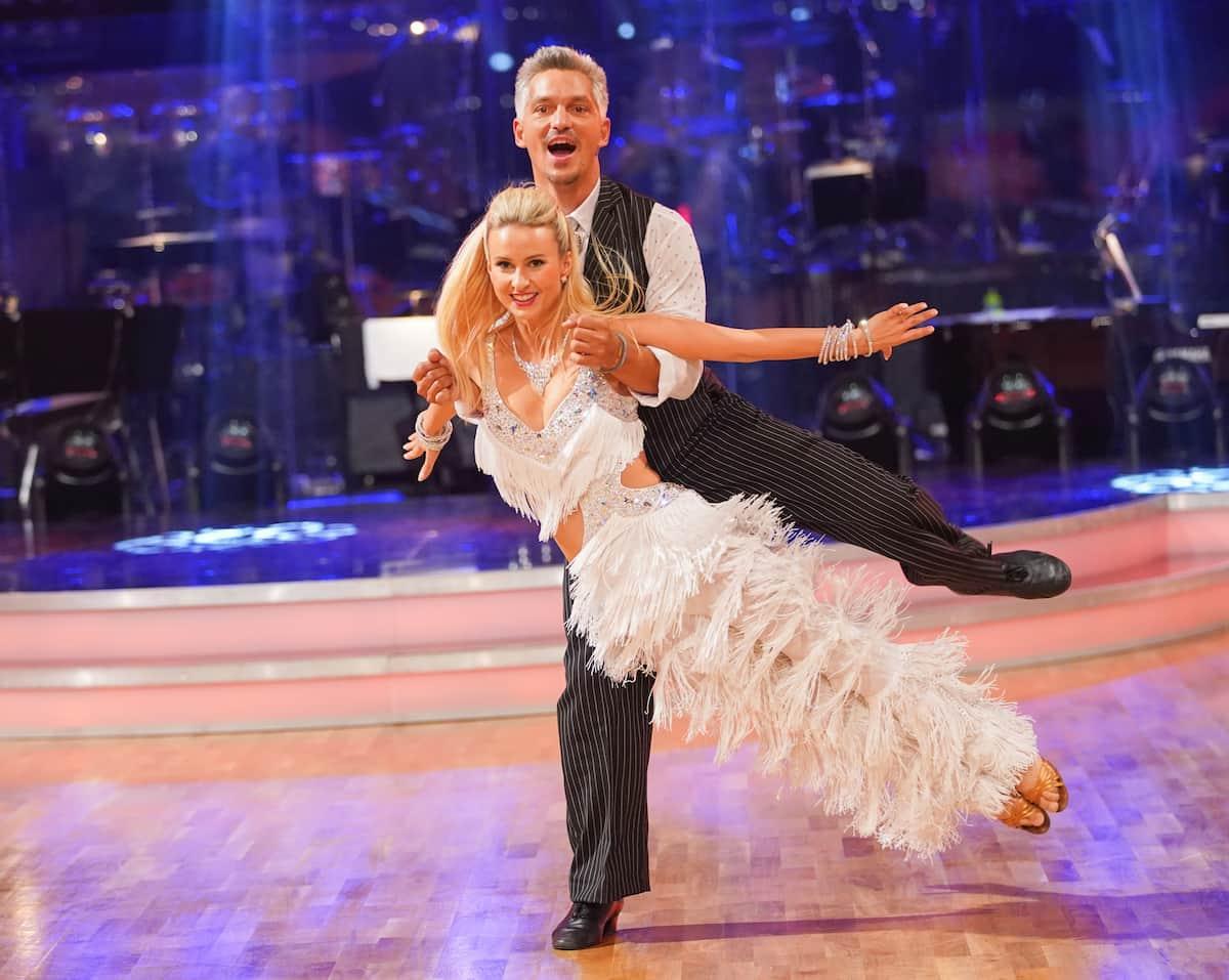 Faris Rahoma - Kati Kallus bei den Dancing Stars am 8.10.2021