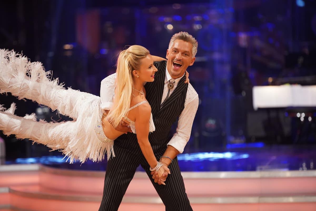 Faris Rahoma - Katrin Kallus bei den Dancing Stars am 8.10.2021