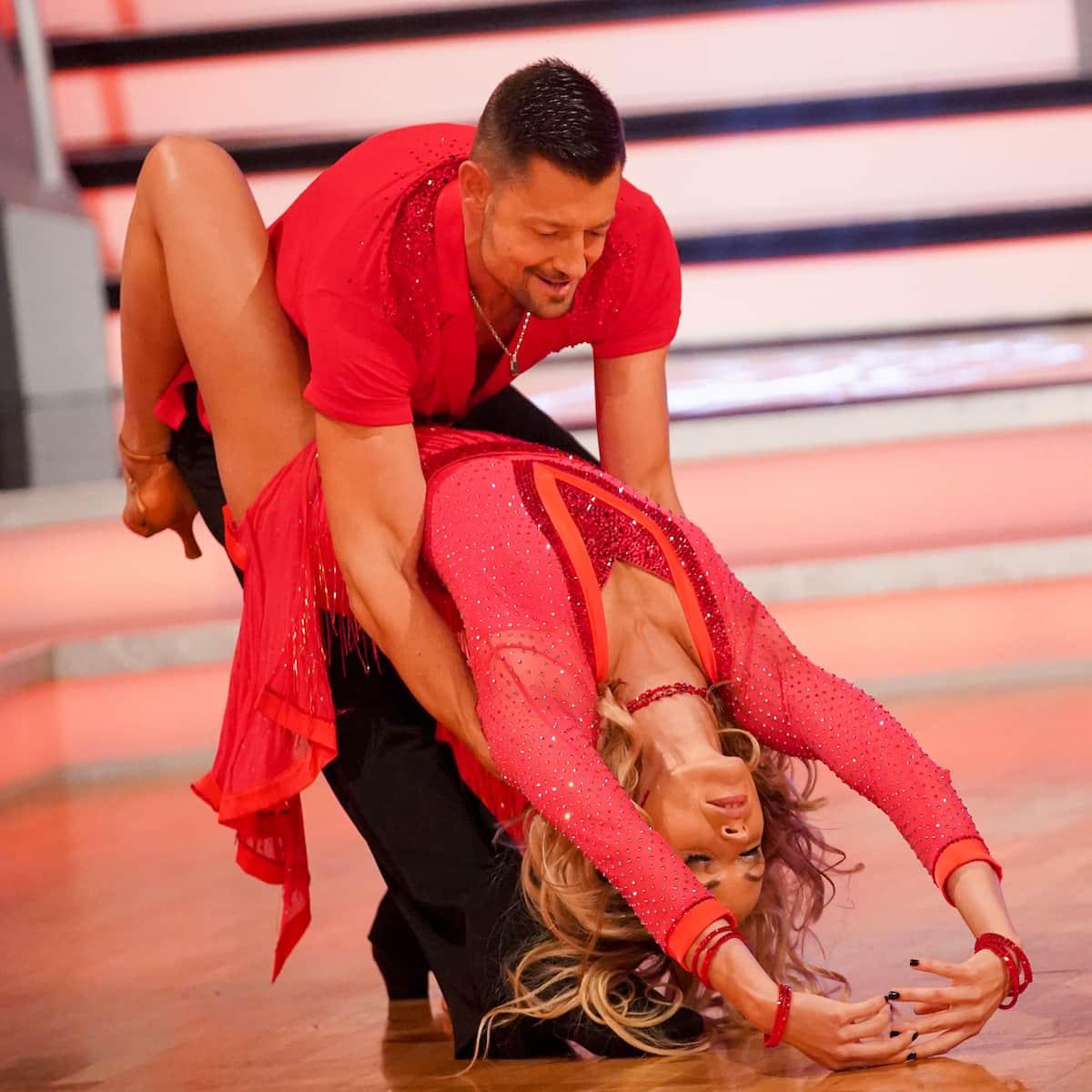 Florian Gschaider - Jasmin Ouschan bei den Dancing Stars am 8.10.2021
