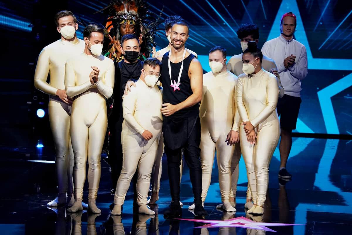 Inclusion Dance Show weiter im Live-Halbfinale Supertalent 2021