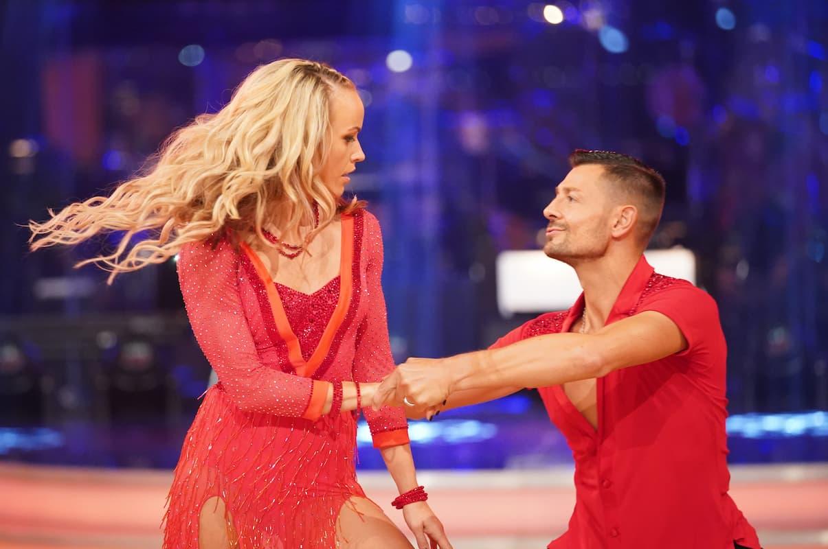 Jasmin Ouschan - Florian Gschaider bei den Dancing Stars am 8.10.2021