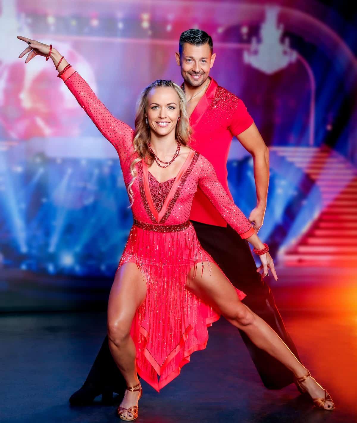 Jasmin Ouschan und Florian Gschaider - Dancing Stars 8.10.2021