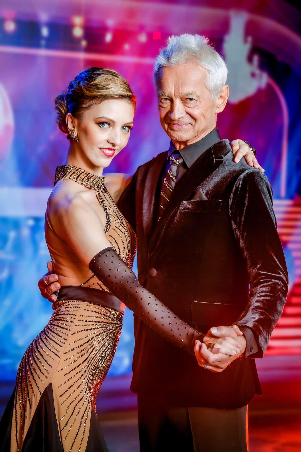Julia Burghardt und Boris Bukowski - Dancing Stars 8.10.2021