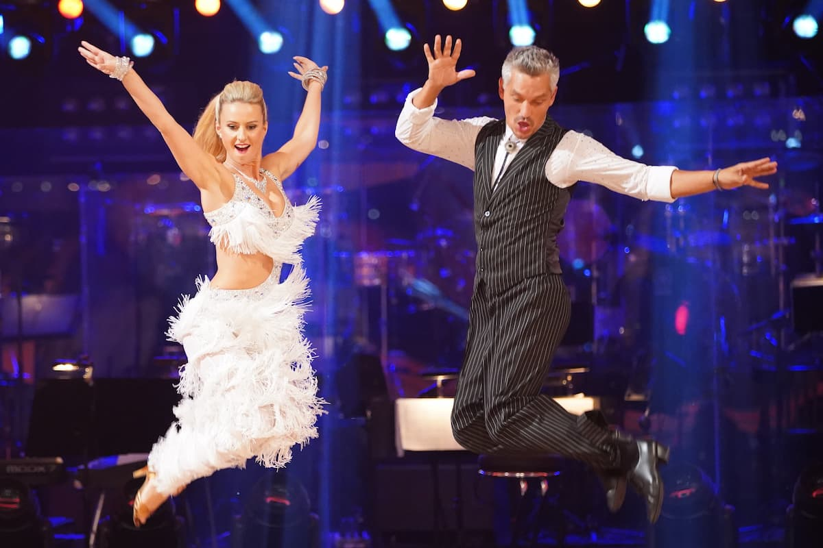 Kati Kallus - Faris Rahoma bei den Dancing Stars am 8.10.2021