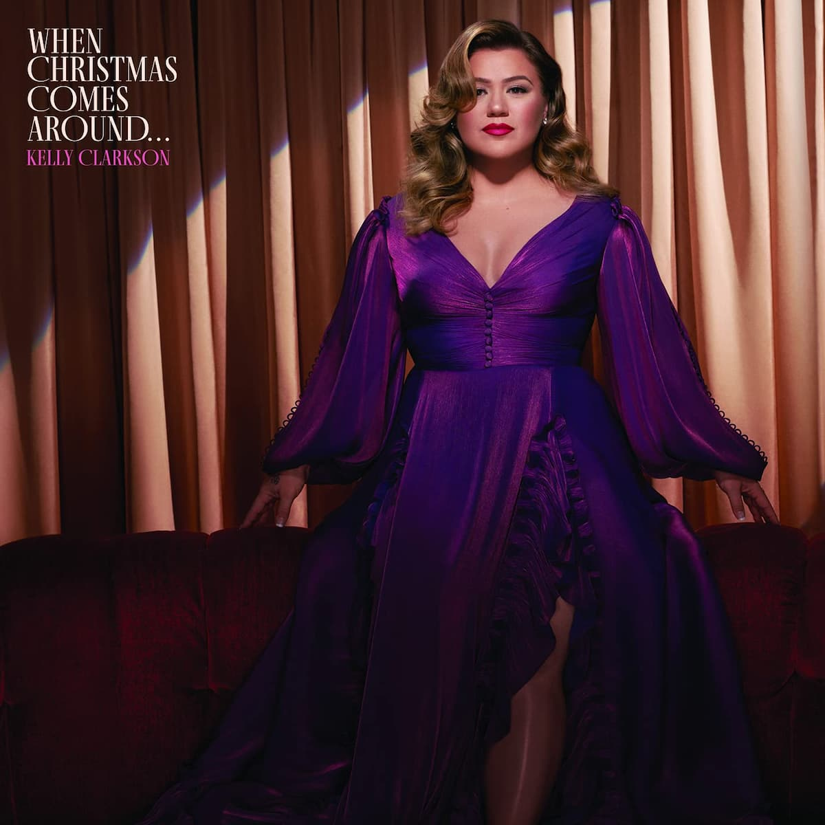"""Kelly Clarkson CD """"When Christmas Comes Around"""" 2021"""