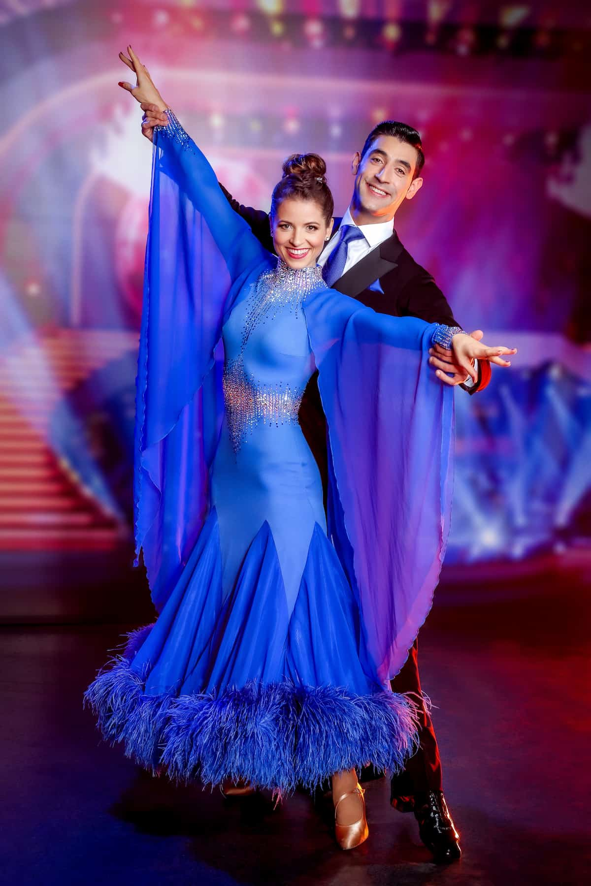 Kristina Inhof und Dimitar Stefanin - Dancing Stars 8.10.2021