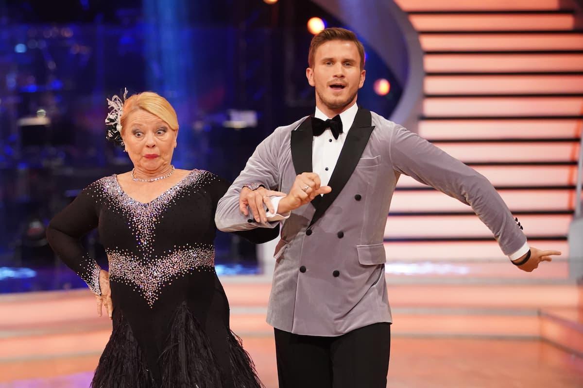 Margarethe Tiesel - Michael Kaufmann bei den Dancing Stars am 8.10.2021
