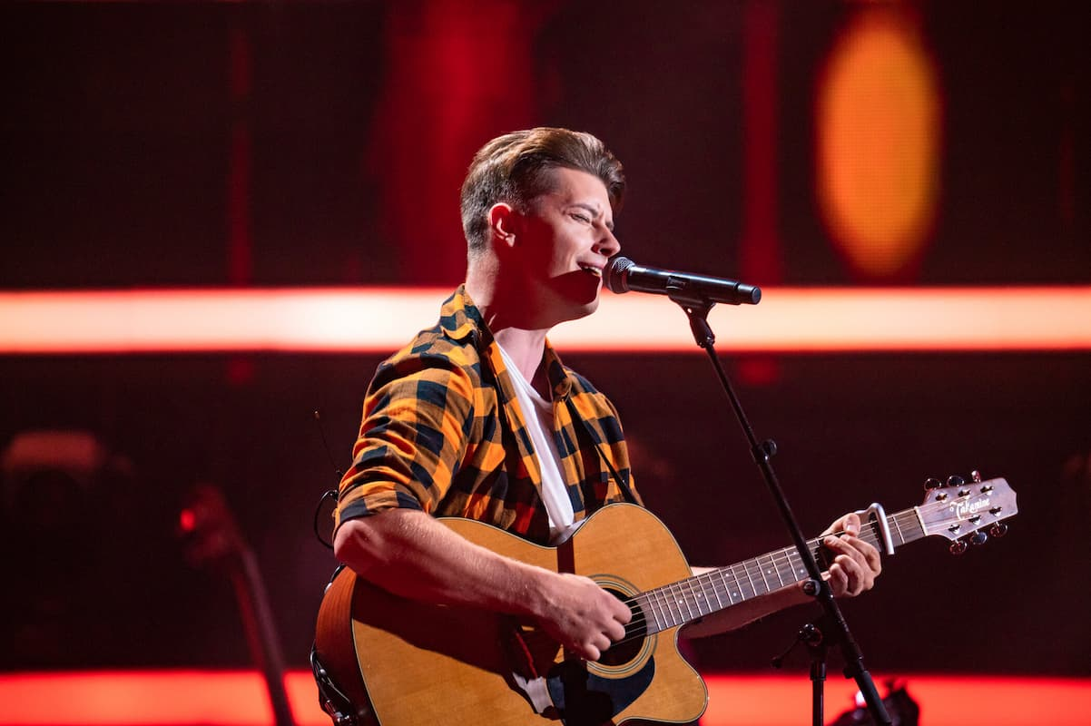 Martin Bollig bei The Voice of Germany am 14.10.2021