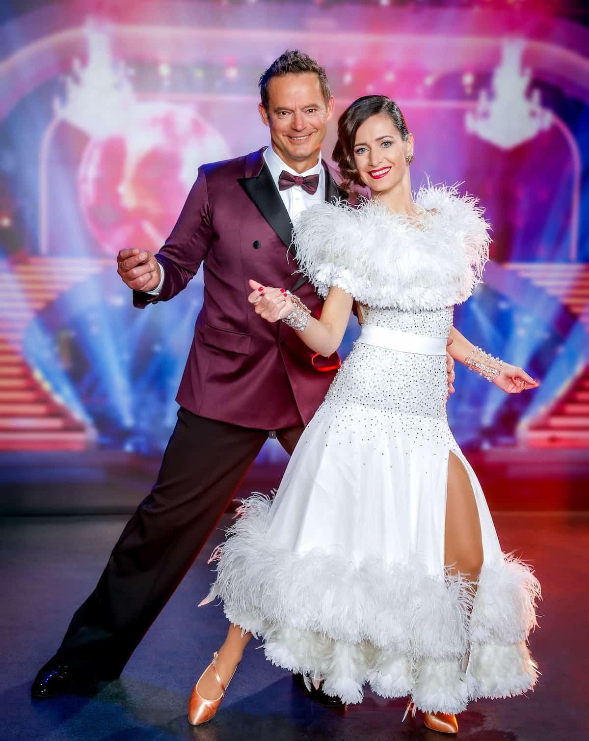 Otto Konrad und Lenka Pohoralek - Dancing Stars 8.10.2021