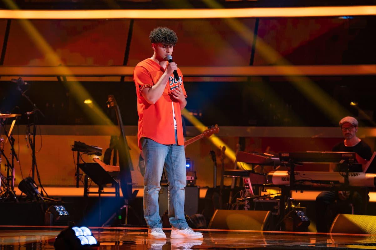 Raffi Kerz bei The Voice of Germany am 14.10.2021