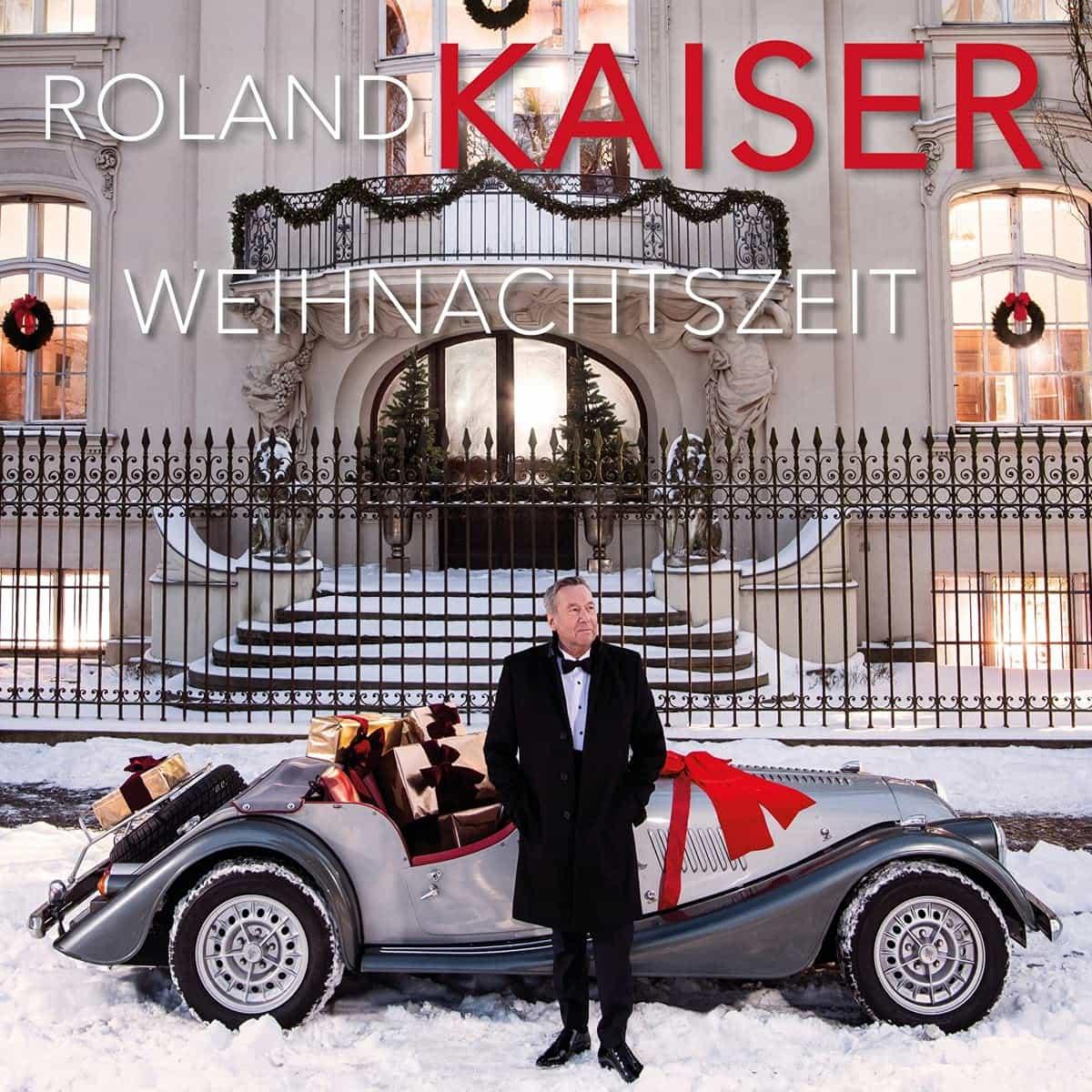 """Roland Kaiser CD """"Weihnachtszeit"""" 2021 - Weihnachtsklassiker"""