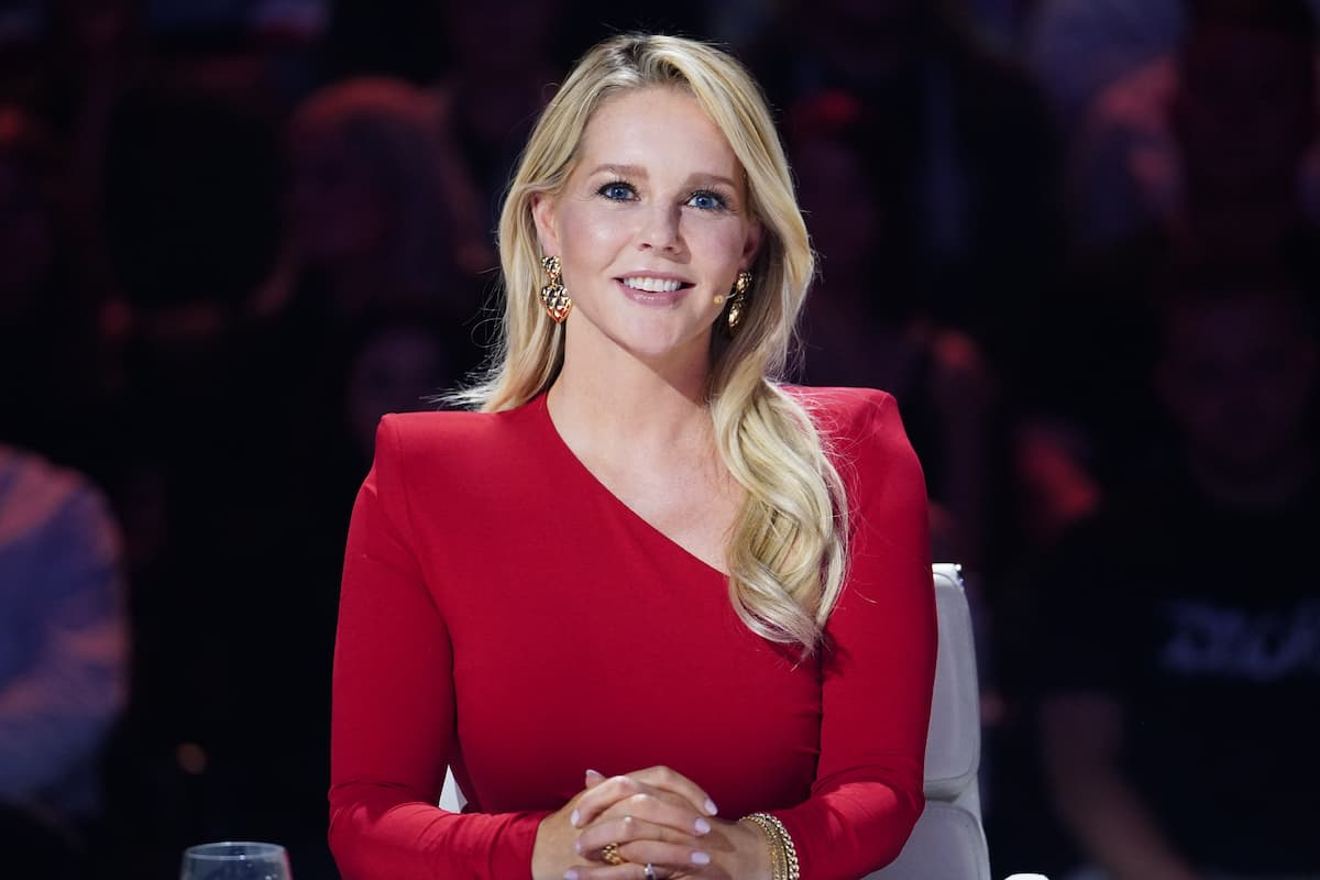 Supertalent am 9.10.2021 Kandidaten - hier im Bild Chantal Janzen, Jurorin