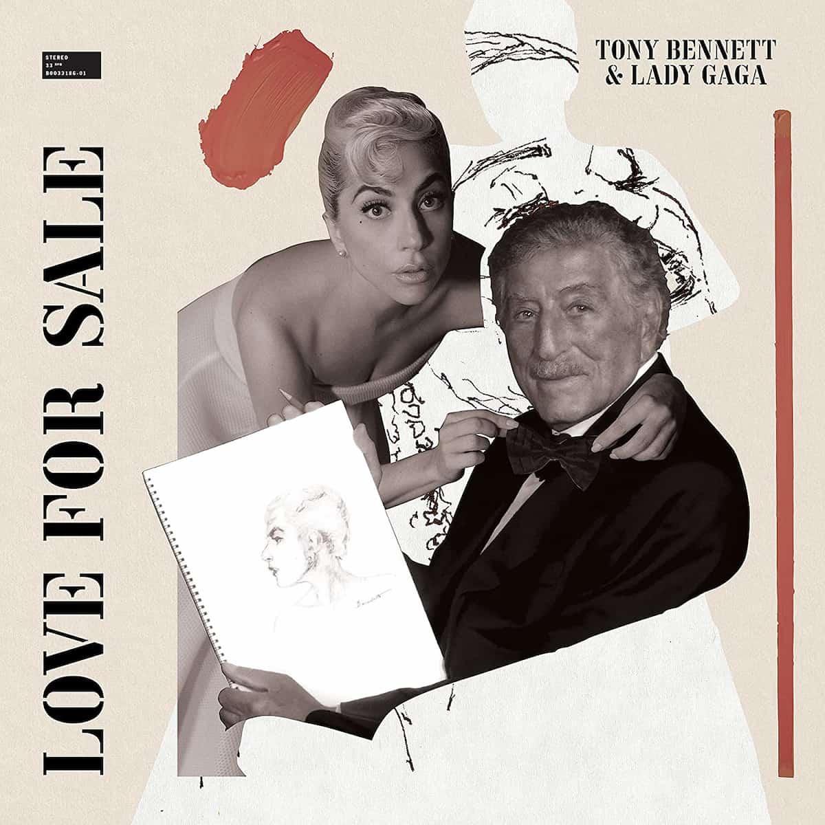 "Tony Bennett & Lady Gaga Album ""Love For Sale"" 2021"