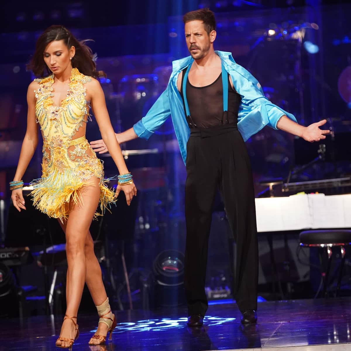 Vesela Dimova - Bernhard Kohl bei den Dancing Stars am 8.10.2021